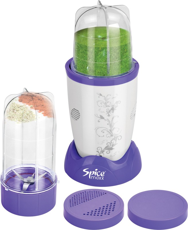 SPHERE SPICE MAXX 7 450 Juicer Mixer Grinder(off white and Purple, 2 Jars)