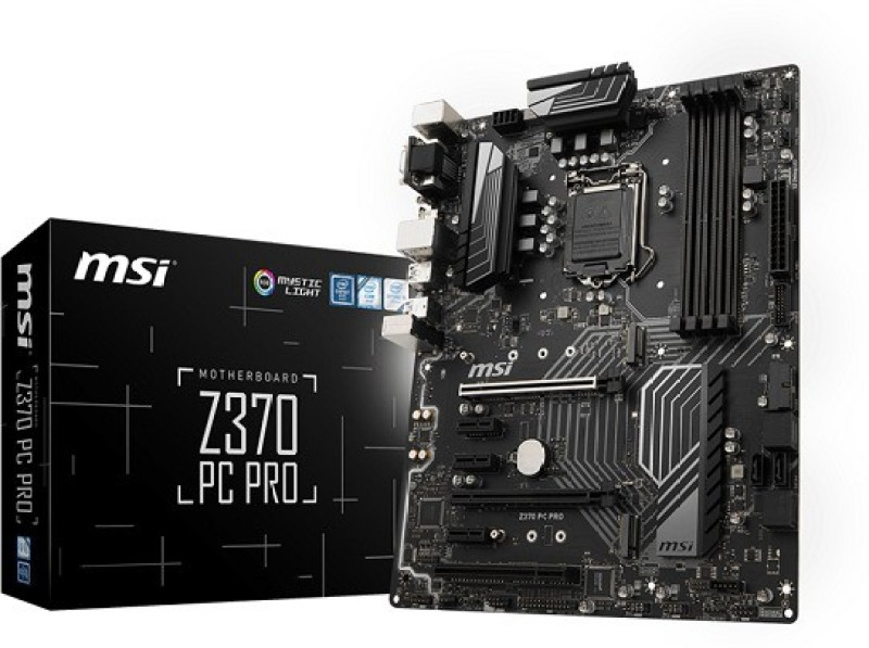 MSI actual Z370 PC PRO Motherboard