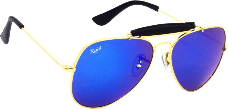 Risist Aviator Sunglasses(Violet) image