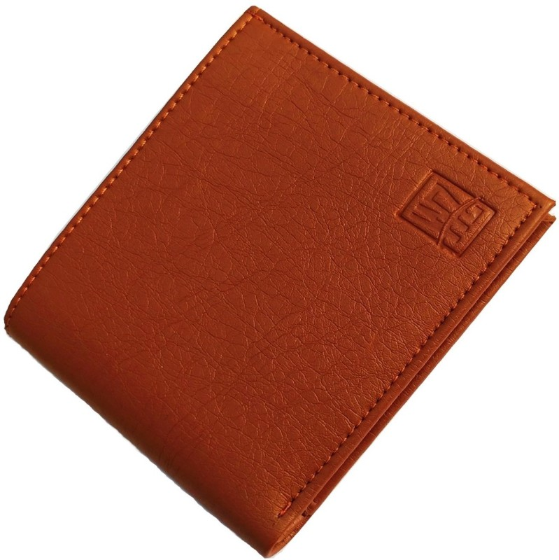 wenzest Boys Tan Artificial Leather Wallet(10 Card Slots)