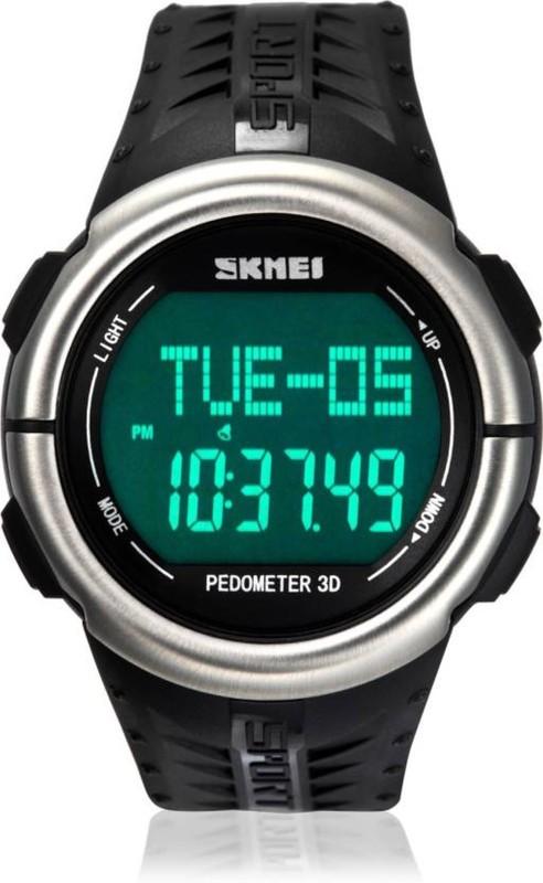Skmei 1058 HR BLK 1058 HR Black Men's Watch image