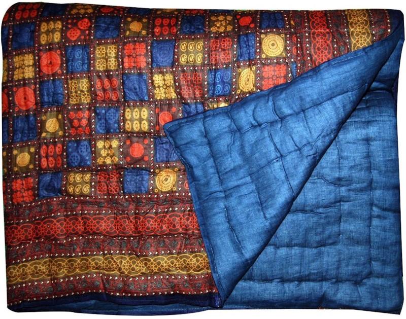 V.R. ENTERPRISES Floral Double Quilts & Comforters Multicolor(JAIPURI RAZAI)