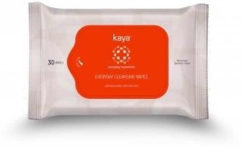 Kaya EVERY DAY CLEANSING WIPES(Pack of 30)