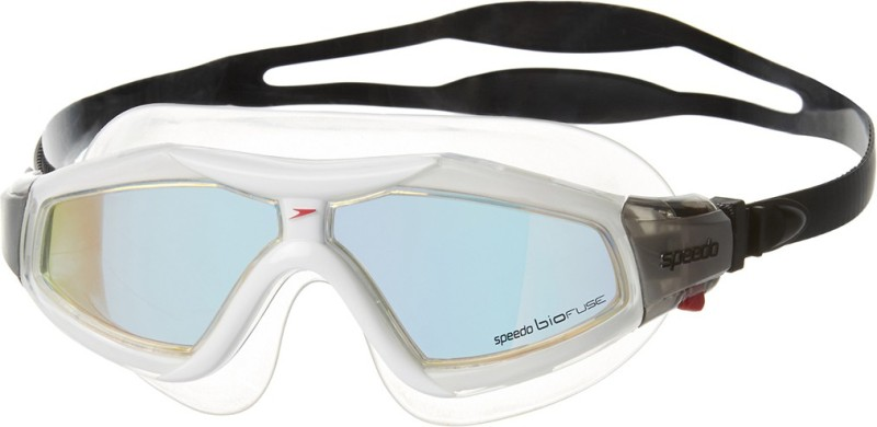 Speedo Rift Pro Mirror Mask Swimming Goggles(Black)