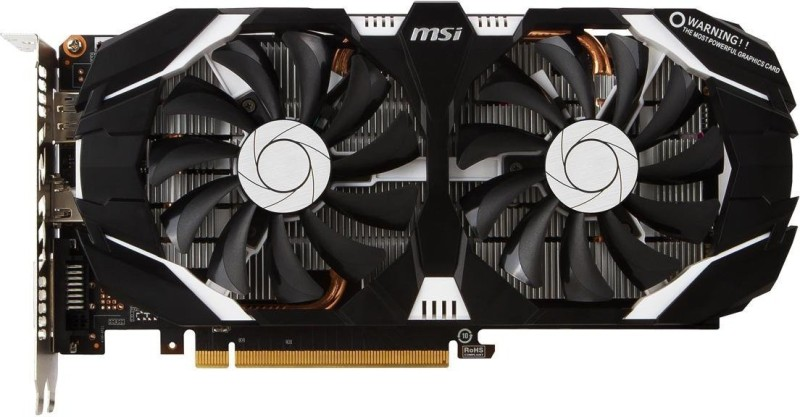 MSI NVIDIA GTX 1060 6GB DDR5 DUAL FAN OC EDITION 6 GB GDDR5 Graphics Card(NA)