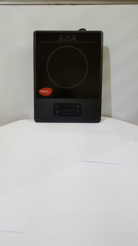 Pigeon Amber Induction Cooktop(Black, Touch Panel)