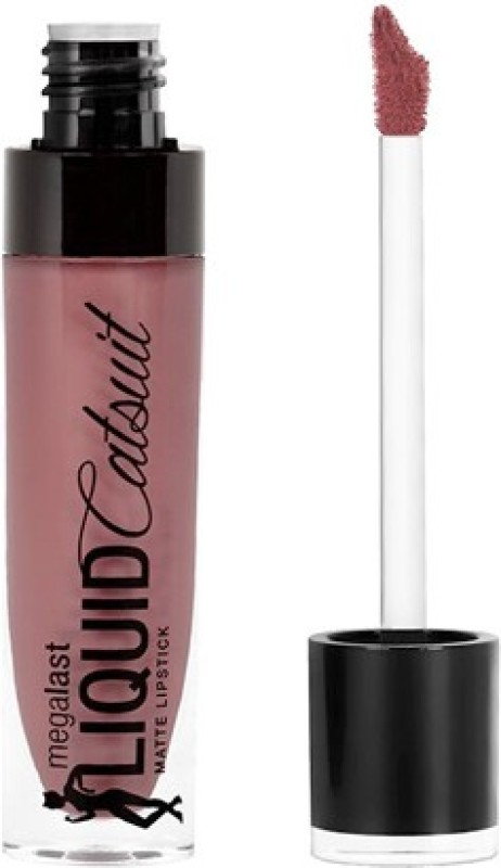 Wet n Wild MegaLast Liquid Catsuit Matte Lipstick(Rebel Rose, 6 g)