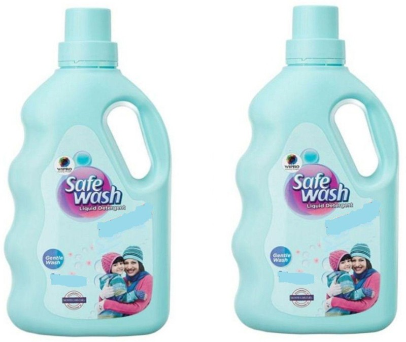 Wipro Safewash Liquid detergent Multi-Fragrance Liquid Detergent(1000 ml)