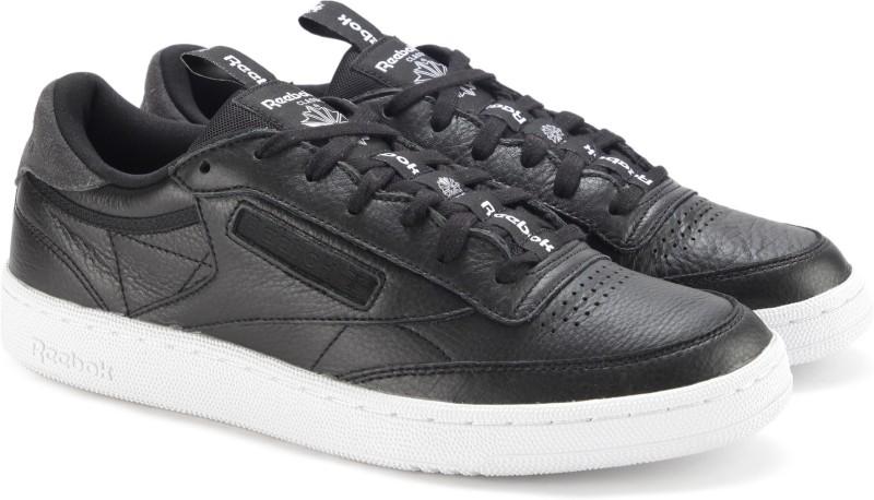 REEBOK CLUB C 85 IT Sneakers For Men(Black)