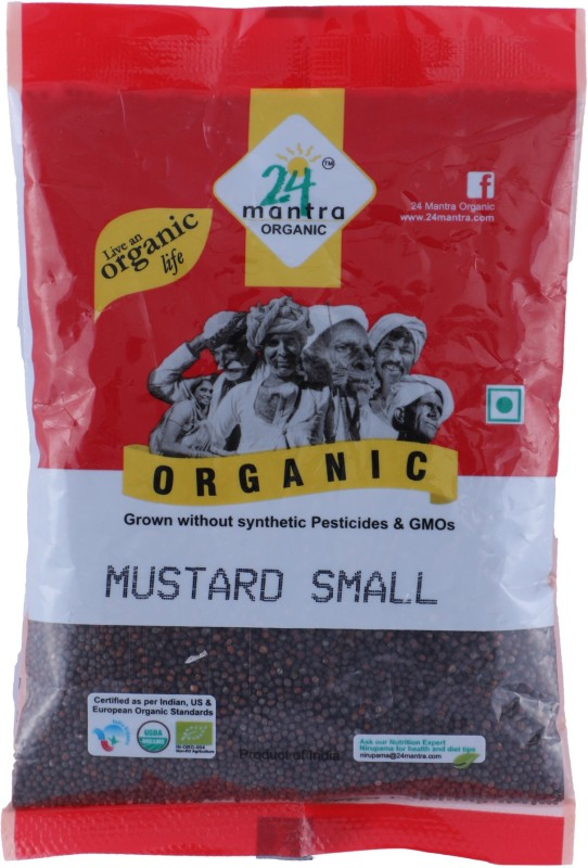 24 Mantra Organic Brown Mustard Small(100 g)