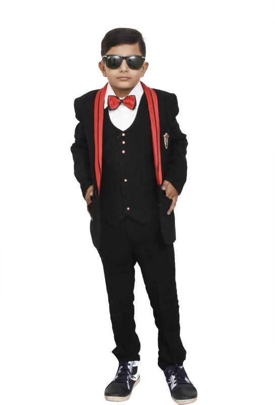 JG FORCEMAN Shapes Solid Boys Suit