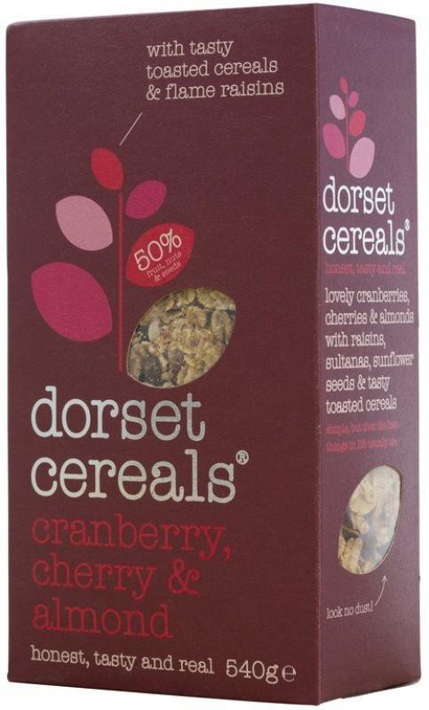 Dorset Cereals Dorset Super Cranberry, Cherry & Almond Muesli(540 g, Box)