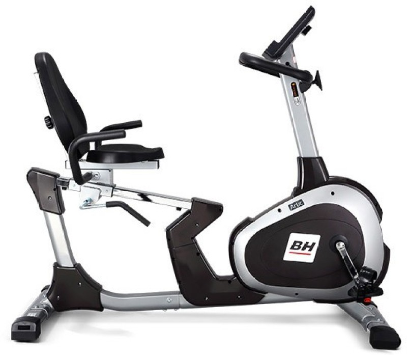 bh fitness H610 Recumbent Stationary Exercise Bike(Black)