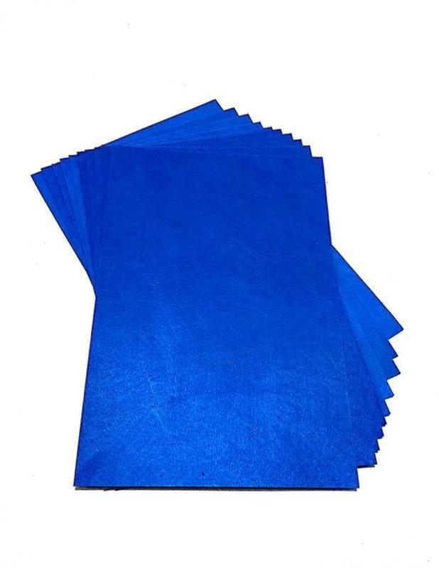 SelectionWorld Art & Craft Felt Papers (Pack Of 10, Blue) Felt Sheet(21 cm x 30 cm)