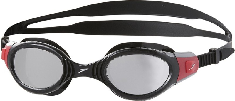Speedo Futura Biofuse Mirror Swimming Goggles(Black)