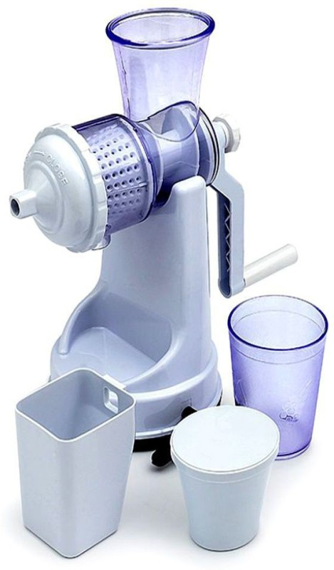 ZooY Plastic Hand Juicer(White Pack of 1)