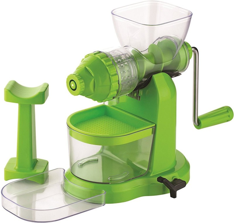 ZooY Plastic, Stainless Steel Hand Juicer(Green Pack of 1)