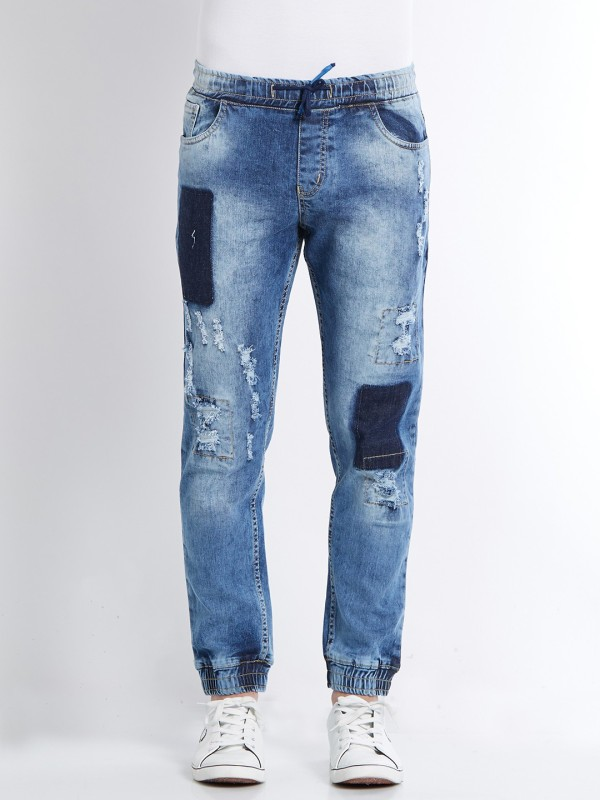 Deezeno Regular Men Light Blue Jeans
