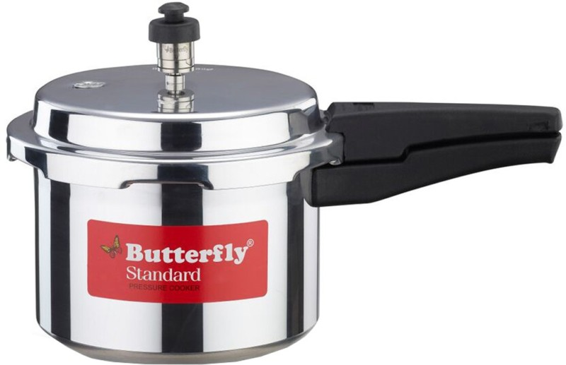 Butterfly Standard 3 L Pressure Cooker(Aluminium)