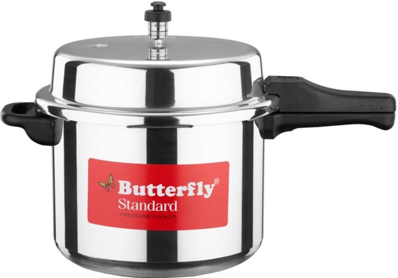 Butterfly Standard 7.5 L Pressure Cooker(Aluminium)
