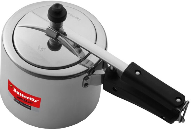 Butterfly Durabase Plus 2 L Pressure Cooker with Induction Bottom(Aluminium)