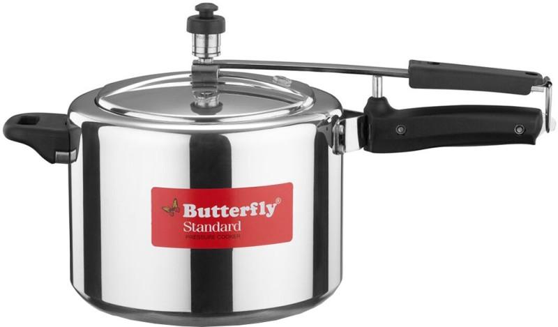 Butterfly Standard 5 L Pressure Cooker(Aluminium)