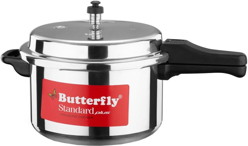 Butterfly Standard Plus 7.5 L Pressure Cooker with Induction Bottom(Aluminium)