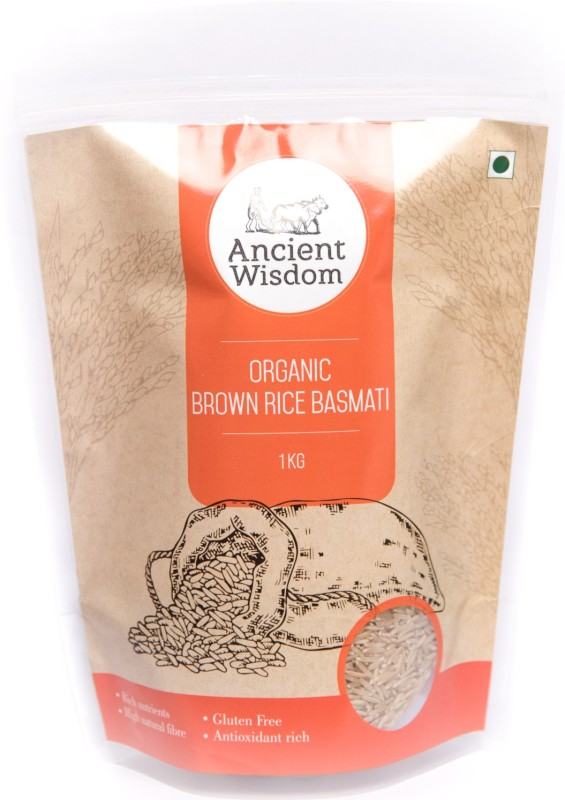 ancient wisodm Brown Basmati RIce Brown Basmati Rice(1 kg)