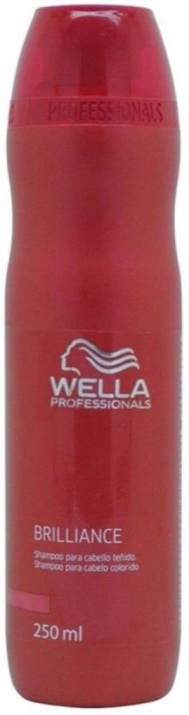 wella Professional brilliance shampoo for all hair type 250ml(250 ml)