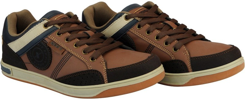 Sparx Mens Sneakers For Men(Tan)