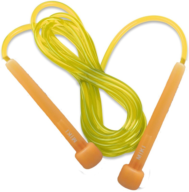 5 OClock Sports Skipping rope for men gym By 5 OClock Sports Speed Skipping Rope(Yellow, Pack of 1)