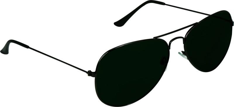 SPY RAYS COLLECTION Aviator Sunglasses(Black) image