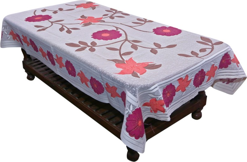 Kuber Industries Printed 4 Seater Table Cover(Multicolor, Cotton)