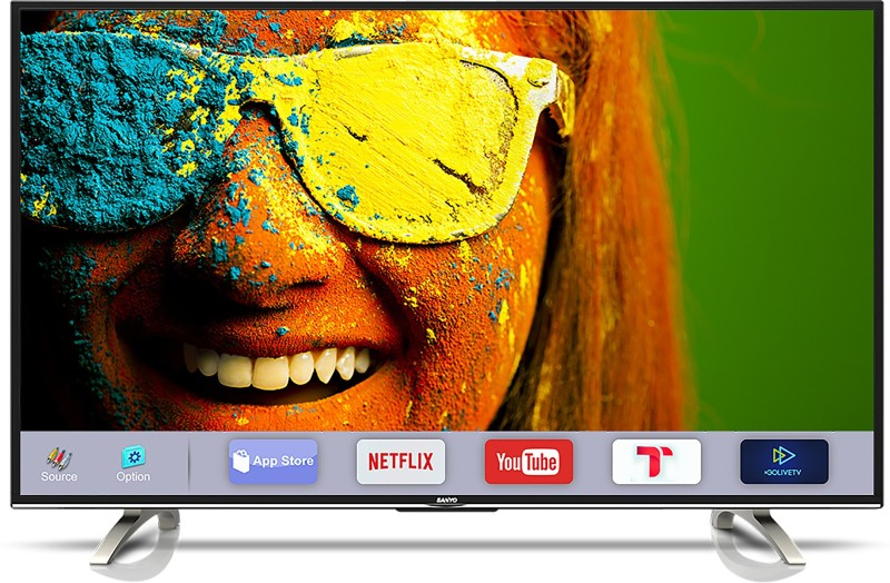 Sanyo 123.2cm (49 inch) Full HD LED Smart TV(XT-49S8100FS)