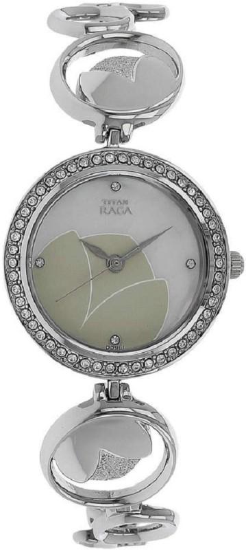 Titan Raga Silver White Dial Women's Analog Watch image