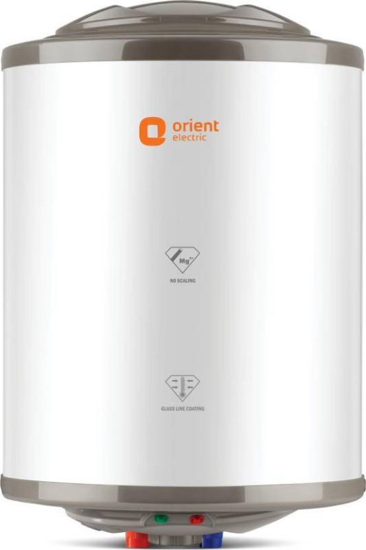 Orient Electric 25 L Storage Water Geyser (Zesto, White, Grey)