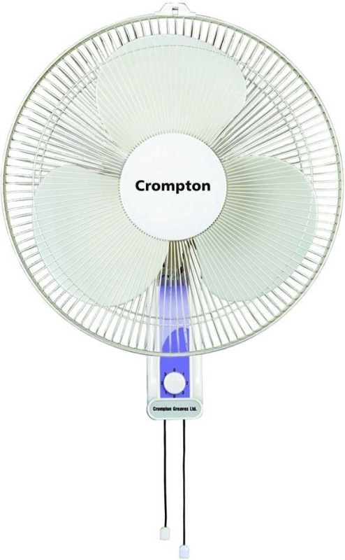 Crompton High flo 400mm wall fan 3 Blade Wall Fan(light gray)