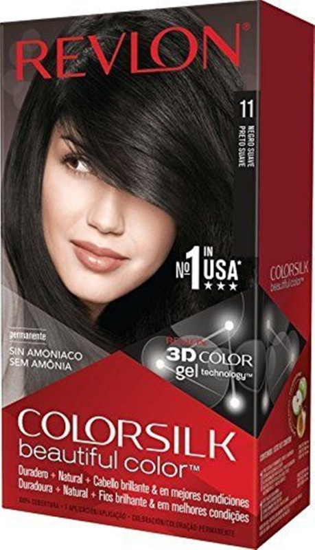 Revlon Colorsilk Hair Color(Soft Black 1WN)
