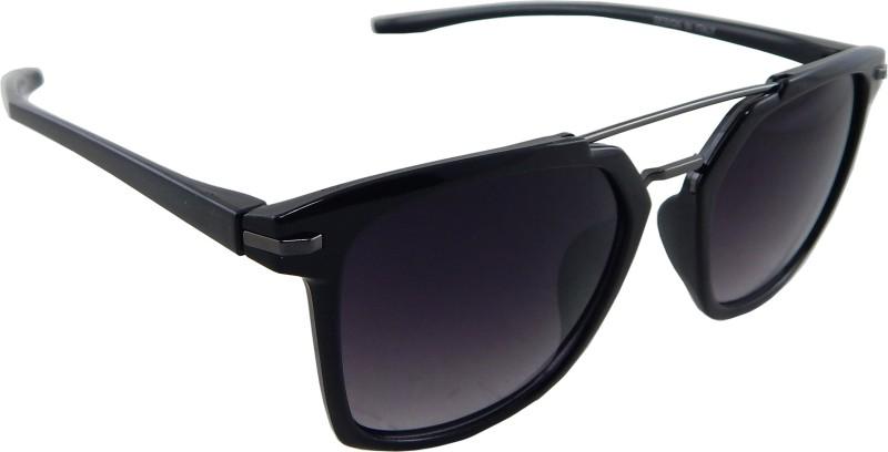 ELS Rectangular Sunglasses(Black) image