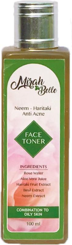 Mirah Belle Naturals Neem Haritaki Anti Acne face toner(100 ml)