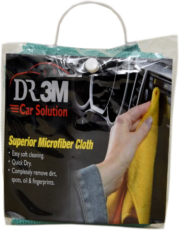 DR3M Microfiber Vehicle Washing Cloth(Pack Of 1)