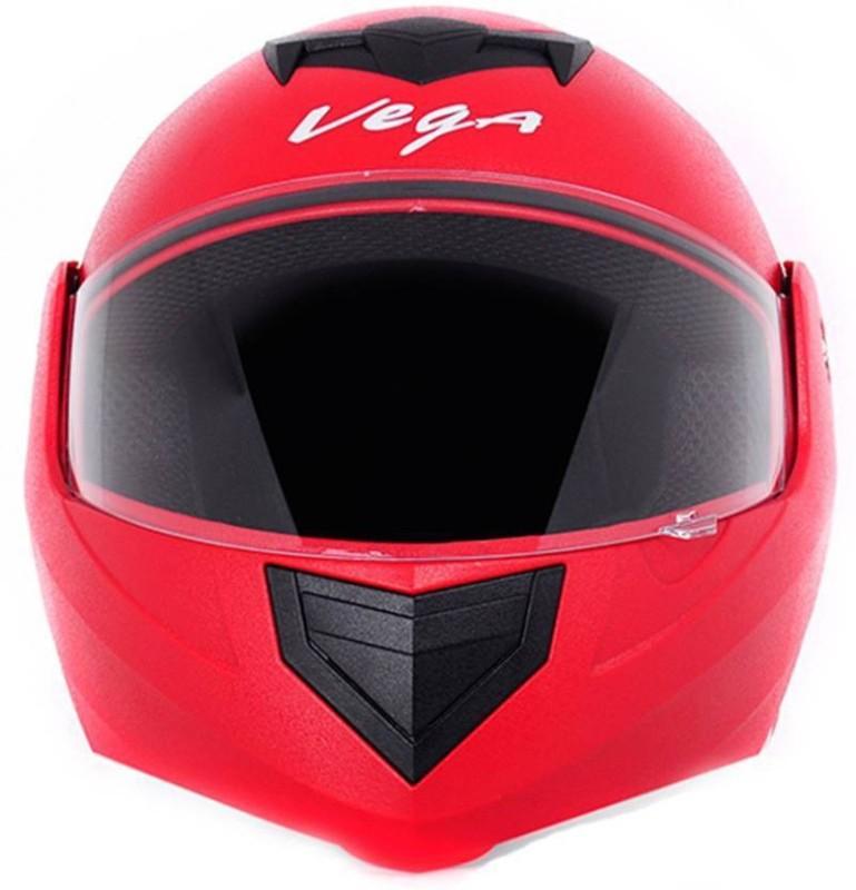 VEGA Crux Motorbike Helmet(Red)