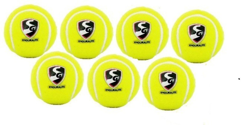 SG Enduralite (Tennis Ball Light) (Pack of 7) Cricket Kit