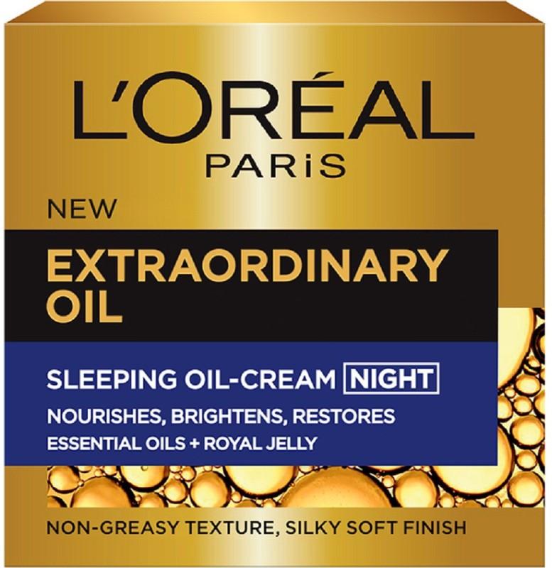 LOreal Extraordinary Oil Sleeping Oil-Cream Night(50 ml)