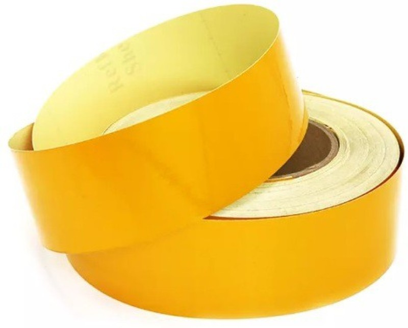 Hansafe SRVI-TPRL 48 mm x 30 m Yellow Reflective Tape(Pack of 1)