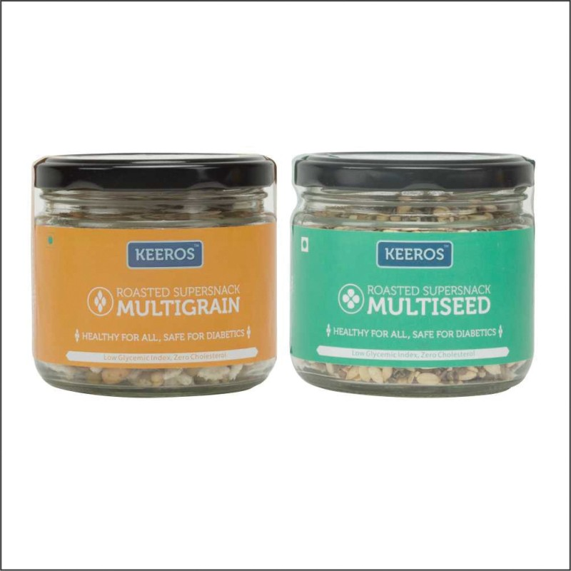 Keeros Multiseed & Multigrain Jar Combo(2 x 125 g)