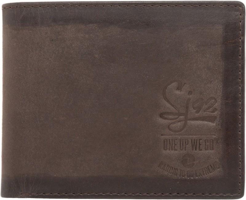 Spykar Men Brown Genuine Leather Wallet(4 Card Slots)