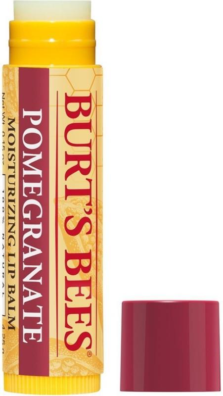 Burts Bees Lip Replenishing Balm with Pomegranate Oil 100 % Natural Moisturizing , .15-ounce Pomegranate(4.25 g)