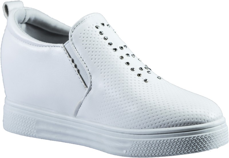 Gospel Gospel Full Embossed SneakersWhite