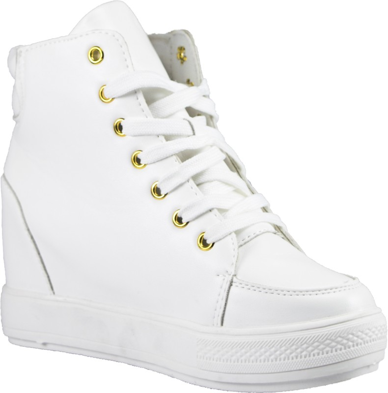 Gospel Gospel Ankeled Chic SneakersWhite
